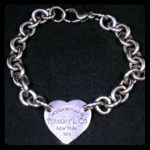 780e3dac0 Tiffany & Co. Jewelry   Please Return To Tiffany Co 925 Heart ...